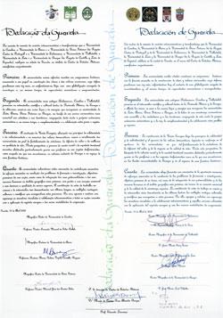 Declaração da Guarda