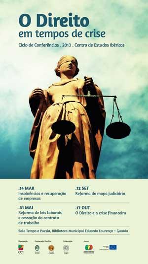 Ciclo de Conferências O Direito em tempos de crise