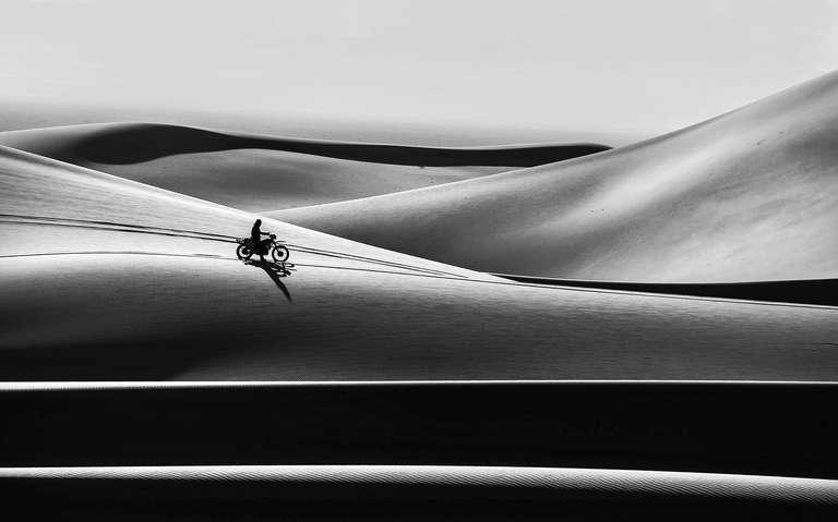 Desert and human
