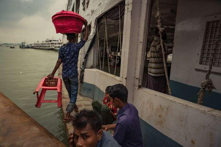 The Port of Dhaka